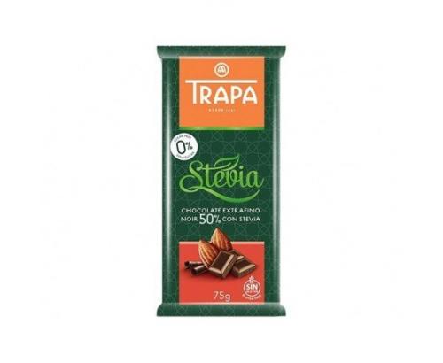 Шоколад Трапа 75г 50% какао без захар