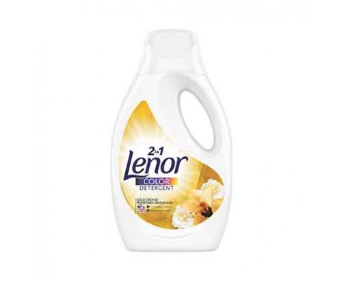 Гел за пране Ленор 1,1л Златна орхидея