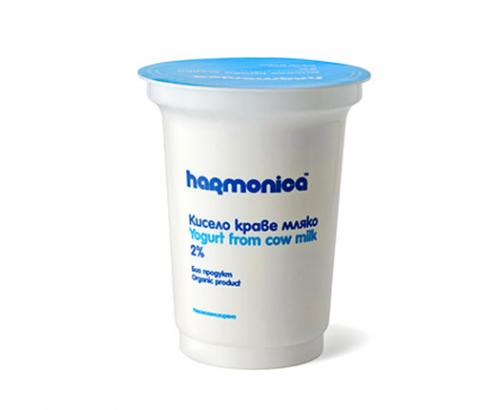 Био кисело мляко Хармоника 2% 400г