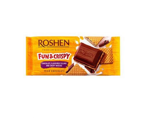 Шоколад Рошен 105г Шоко крем и вафла
