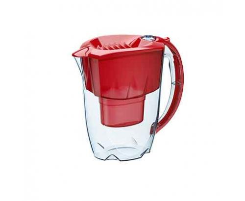 Филтрираща кана Аквафор Аметист 2,8л Червена B25+