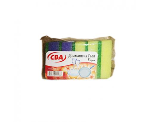 Домакинска гъба CBA 5бр Без канал