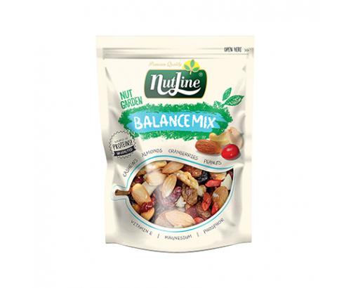 Микс сурови ядки и сушени плодове Нътлайн 250г Баланс