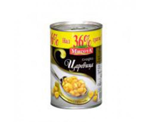 Сладка царевица Мисота 312мл