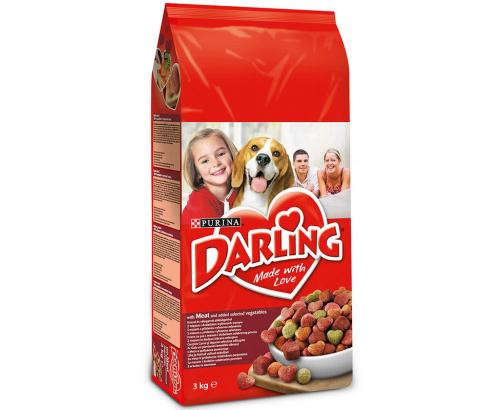 Храна за кучета Дарлинг 3кг Суха Месо