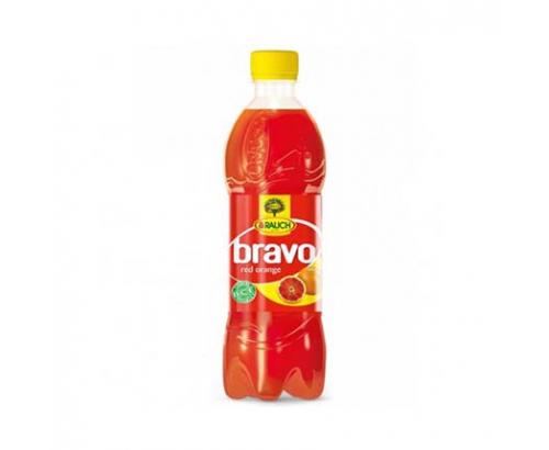 Негазирана безалкохолна напитка Браво 500мл Червен портокал
