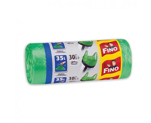 Торби за смет Фино 35л Цветни с дръжки