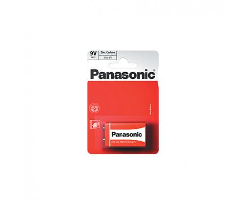Батерии Панасоник  6F22R 9V 1бр