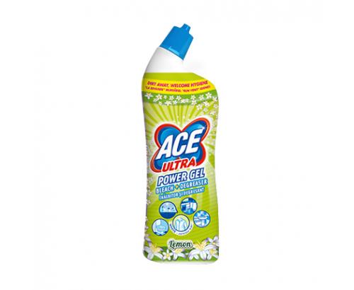 Почистващ препарат Аче Ултра 750мл Гел лимон