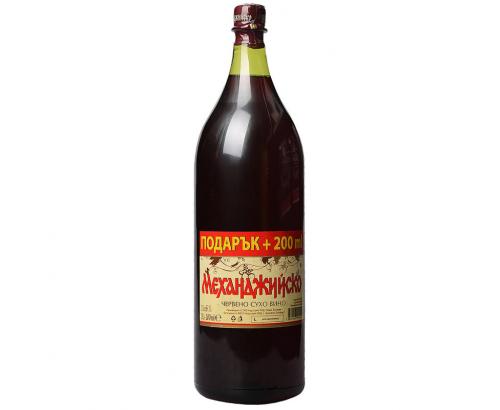 Вино Механджийско 2л Червено