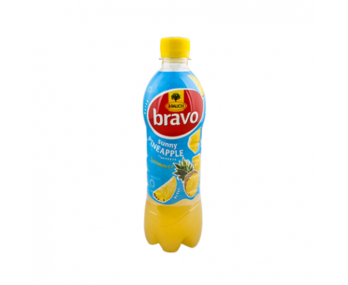 Негазирана безалкохолна напитка Браво 500мл Ананас