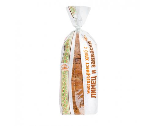 Хляб Стражица 500г Многозърнест с лимец и закваска