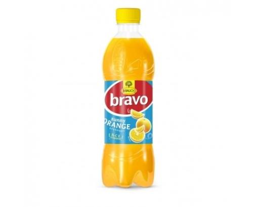 Негазирана безалкохолна напитка Браво 500мл Портокал