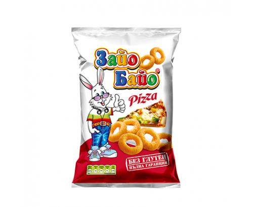 Пшенични пръчици Зайо Байо 55г Пица