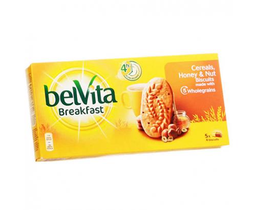 Бисквити Белвита 250г Лешник и мед