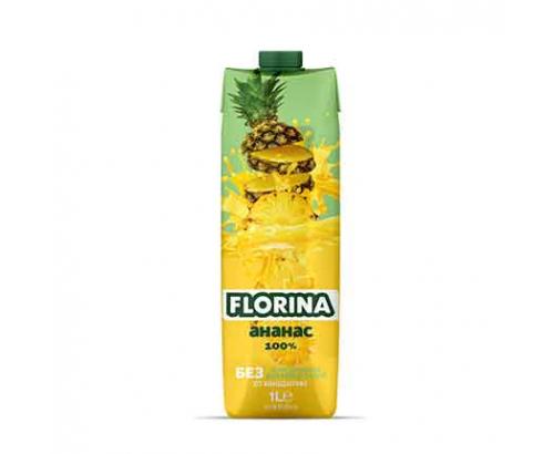 Натурален сок Флорина 1л Ананас 100%