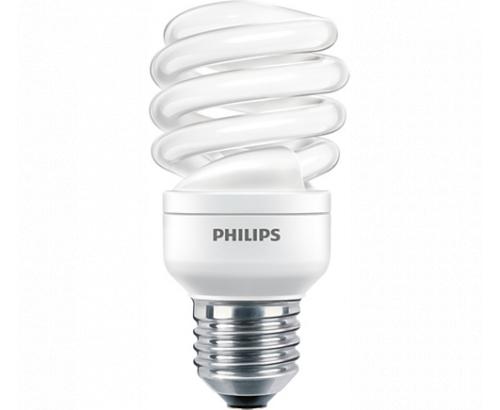 Луминисцентна крушка Филипс 15W=75W E27 Спирала