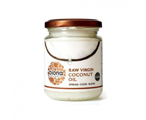Био кокосово масло Биона 200мл Студено пресовано
