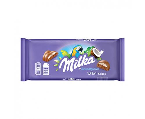 Шоколад Милка 100г Бабъл кокос