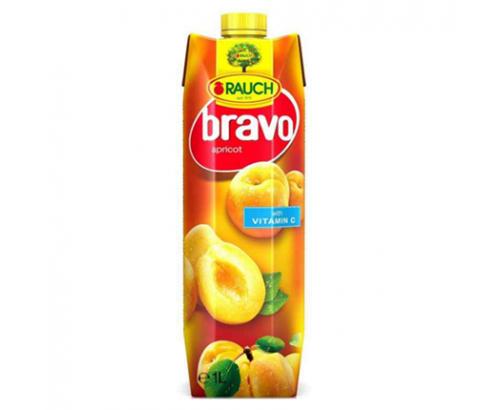 Негазирана безалкохолна напитка Браво 1л Кайсия