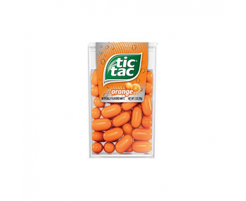Бонбони Тик Так 29г Портокал