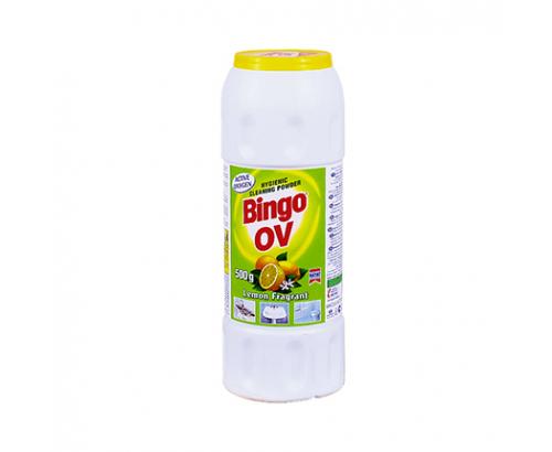 Почистващ препарат Бинго ОВ 500г Лимон