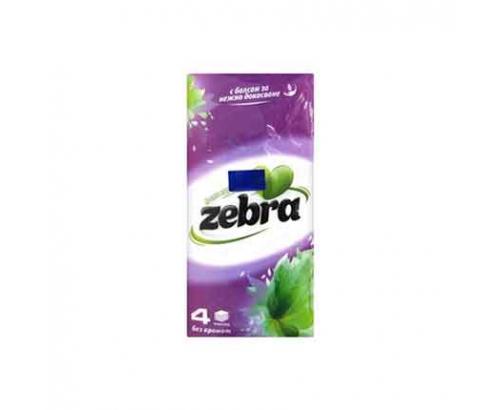 Носни кърпички Зебра 9бр С балсам