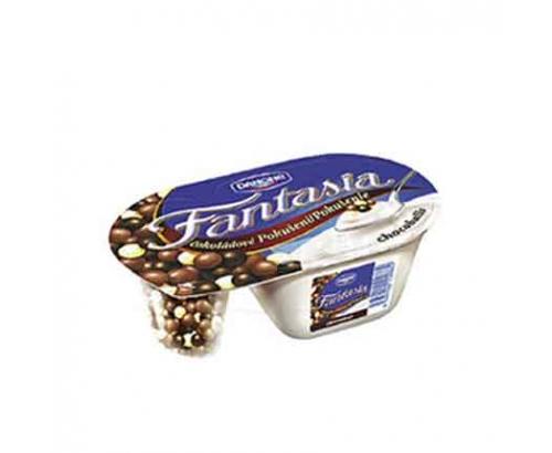 Млечен десерт Данон Фантазия 100г Шоколадови топчета