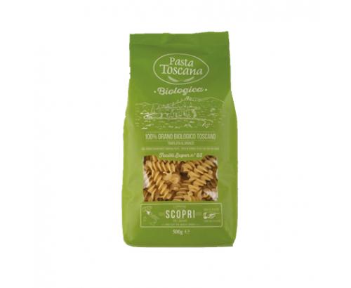 Био пшенични фусили Паста Тоскана 500г