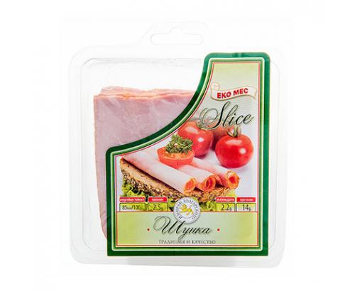 Шунка Еко мес 200г Слайс
