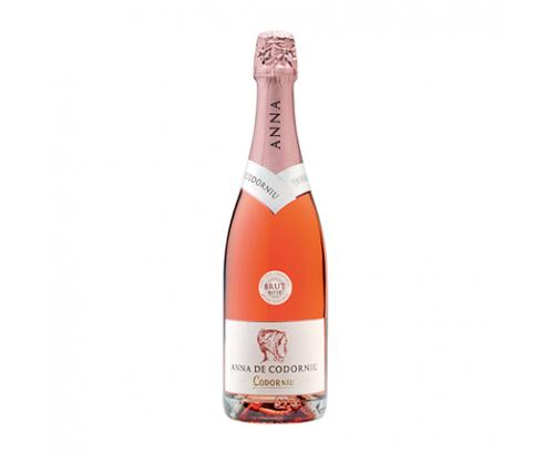 Пенливо вино Анна де Кодорню Кава 750мл Розе