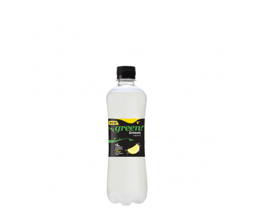 Газирана напитка Грийн 500мл Лимон